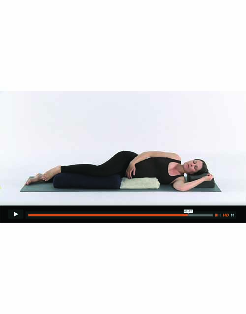 Pregnancy Yoga For Beginners DVD Boxset Screenshot
