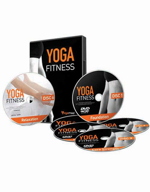 Yoga Fitness DVD Boxset