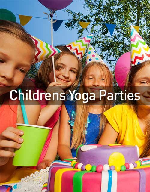 Childrens Yoga Parties