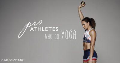 15 Pro Athletes That Swear By Yoga