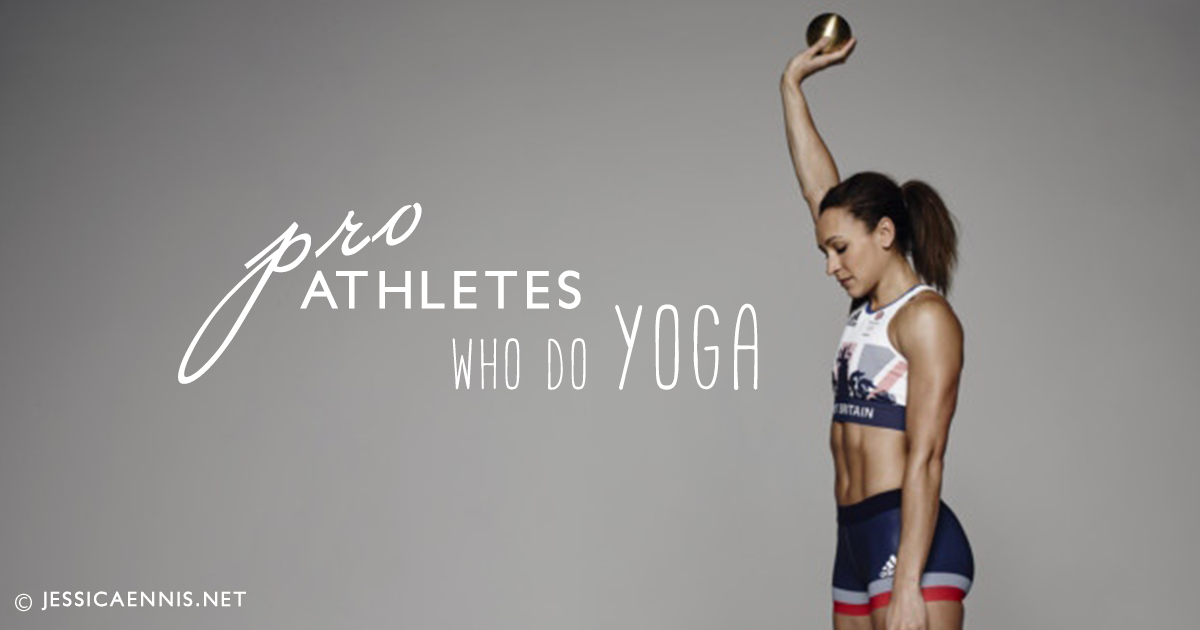 15 Pro Athletes That Swear By Yoga
