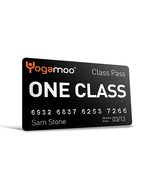 One Class Yoga pass