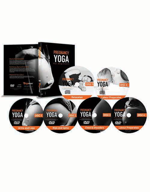Pregnancy Yoga For Beginners DVD Boxset