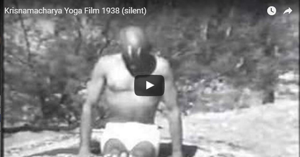 Amazing Vintage Yoga Video In Black And White