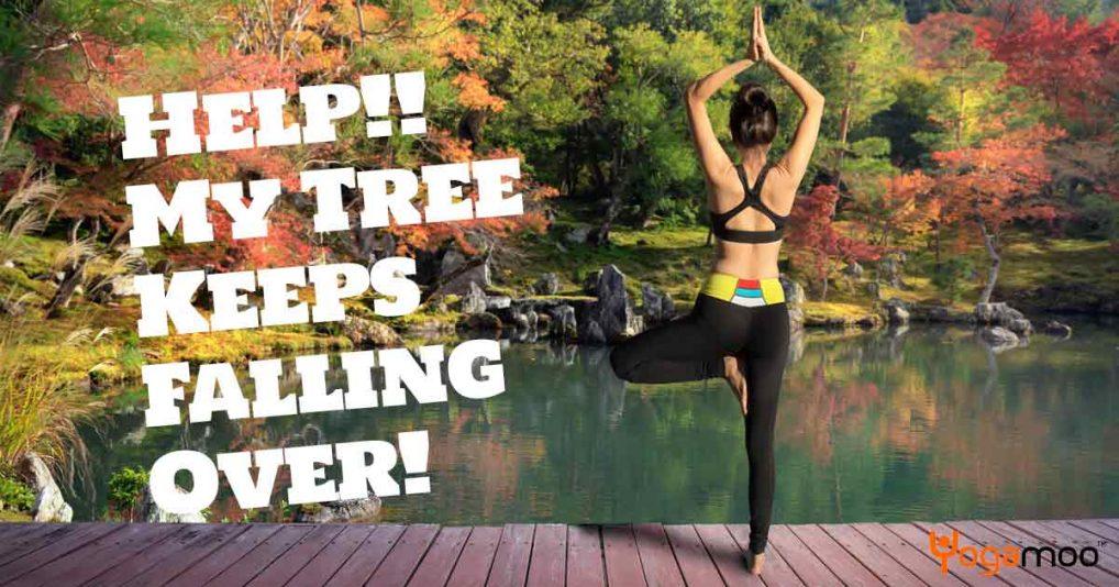 Help!! My Tree Keeps Falling Over!