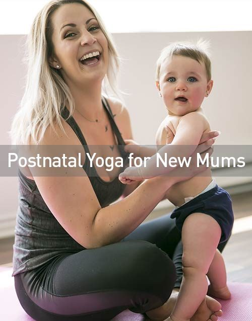 Postnatal Yoga for New Mums
