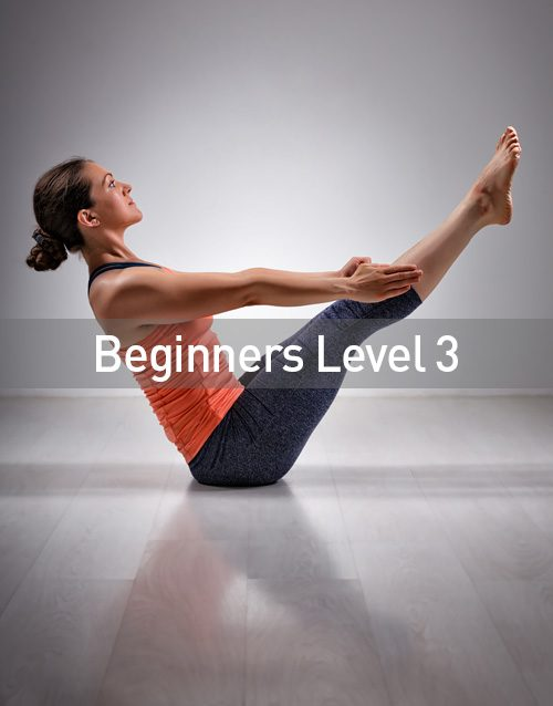 Beginners Level 3 Yoga Course